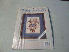 Weekenders Hummel Sleepy Time Counted Cross Stitch Kit by BathoryZ, $29.00