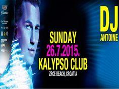DJ ANTOINE u nedjelju donosi ritmove St. Tropeza u Kalypso na Zrću!