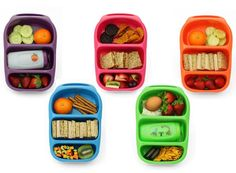 Goodbyn lunch boxes have released the Bynto - a mini version perfect for kids! Bento Box Lunch For Kids, Back To School Lunch Ideas, Lunch Boxes, Kid Lunches, School Lunches, School Days, Good Food, Yummy Food, Yummy Lunch