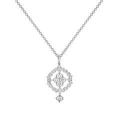 Gabriella Necklace white gold and diamonds www.stoneparis.com