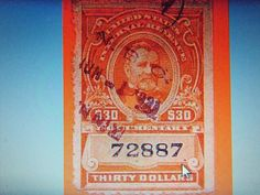 1917 #R276B-$30 DOCUMENTARY-USED