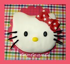 tartearte: tartas fondant Chocolate, Hello Kitty, Sugar, Desserts, Food, Mini Pies, Fondant Cakes, Recipes, Tailgate Desserts