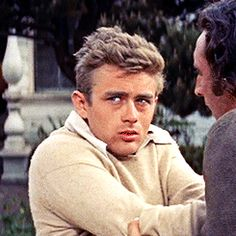 "James Dean in ""East of Eden"". Hollywood Actor, Classic Hollywood, Old Hollywood, James Dean Photos, East Of Eden, Jimmy Dean, Jean Luc Godard, Bad Picture, Old Movie Stars"