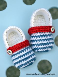 baby shoes. These things would never stay on but they sure look cute! You could probably add a little elastic to the back, like robeez