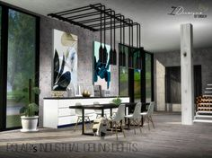 Industrial Ceiling Lights New Mesh at Daer0n – Sims 4 Designs • Sims 4 Updates