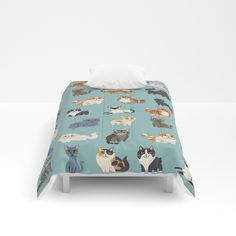 Buy Cats! Comforters by lilichin. Worldwide shipping available at Society6.com. Just one of millions of high quality products available.