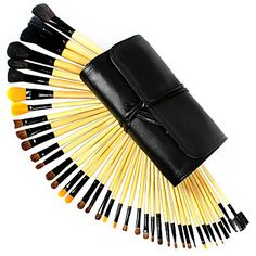 Findingcolor 40 Pcs Professional Wool Makeup Brush Set(Two colors may be random)FC045 – USD $ 36.99