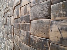 tile made out of old whiskey barrels - they make floors too!