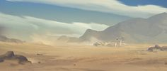Desert , · · on ArtStation at https://www.artstation.com/artwork/desert-a16e50bc-72b7-4e07-9fb4-8a0127593279