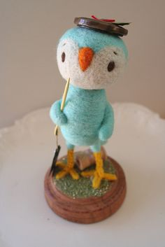 Sewing bird by All Good Wishes, via Flickr
