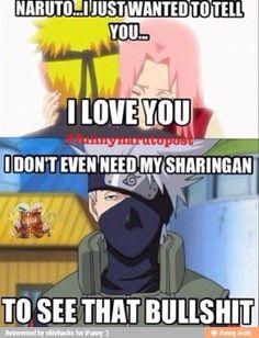 Yes like all that time you were like:Sasuke, sasuke and when your butt wants it you are narutooo I love u 😾 Kakashi, Naruto Uzumaki, Anime Naruto, Boruto, Hinata, Naruto Quotes, Funny Naruto Memes, Funny Memes, Naruto Hand Signs