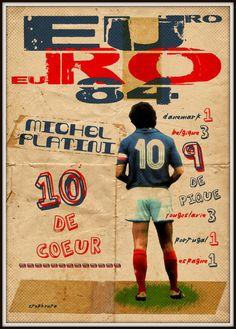 Michel Platini - numéro 10