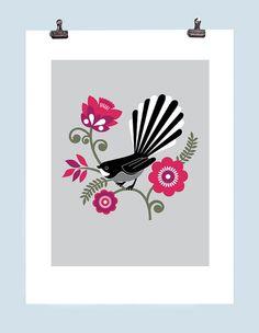 Fantail Print