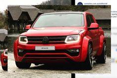 Volkswagen Amarok : une version musclée du pick-up photographiée Vw Amarok, Volkswagen Amarok, Pick Up, Peugeot 208, Cars, Carbon Fiber, Automobile