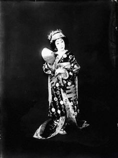 Nakamura Utaemon VI was a great kabuki actor famous for his oyama (female impersonation) roles. He took his kabuki name from his father in 1951, after his father's death. In 1968, he was designated an official Living National Treasure by the Japanese government.