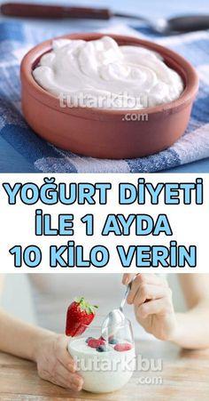 I lost 10 pounds in a month with yogurt diet - Yoğurt Diyetiyle 1 Ayda 10 Kilo Zayıfladım I lost 10 pounds in a month with yogurt diet. Matcha Benefits, Lemon Benefits, Health Benefits, Health Diet, Health Fitness, Fitness Goals, Matcha Green Tea, Losing 10 Pounds, Detox