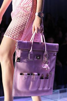 Versace Spring 2015 Ready-to-Wear - Details