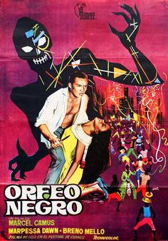 Orfeu Negro / Black Orpheus (1959), Marcel Camus | One sheet movie poster