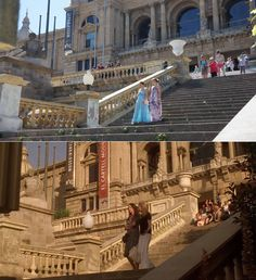 Vicky Cristina Barcelona - filmed on Passeig de les Cascades Barcelona. Vicky Cristina Barcelona, Les Cascades, Filming Locations, Around The Worlds, Mansions, House Styles, Manor Houses, Villas, Mansion