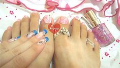 12 + Gel Toe Nail Art Designs, Ideas, Trends & Stickers 2014 | Gel Nails | Fabulous Nail Art Designs
