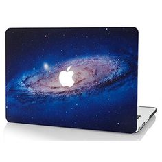 MacBook Pro 13 Shell Rubberized Laptop Protective Cover Space Galaxy Milky White #MacBookPro13Case