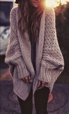 Sweater weather #fall | www.solidcloset.com