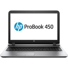 "HP - ProBook 15.6"" Laptop - Intel Core i5 - 8GB Memory - 500GB Hard Drive - Black"