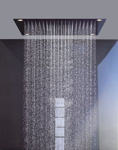 Recessed ceiling shower head / square / with built-in light - AXOR SHOWER COLLECTION - 10623800 - Axor - Videos