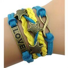 "Starfish ""Love"" Bracelet"