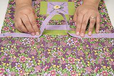 Porta-lingerie de patchwork - Portal de Artesanato - O melhor site de artesanato com passo a passo gratuito