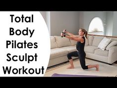 Pilates Workout Videos, Pilates Barre, Gym Workouts, At Home Workouts, Yoga Fitness, Fitness Tips, Body Makeover, Life Video, Total Body