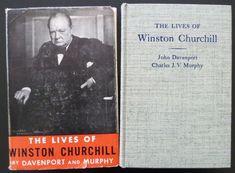 Lives of Winston Churchill by John Davenport C Murphy 1945 1st Ed History Photos