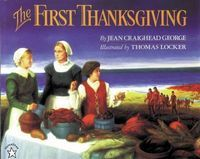 List and brief notes on about 100 Thanksgiving books for kids.