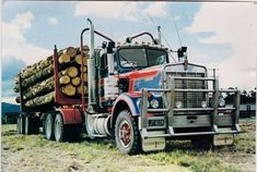 Semi Trucks, Rigs, Tractor, Offroad, Trailers, New Zealand, Old School, Retro Vintage, Legends