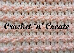 Up and down crochet stitch, love this textured stitch, it's so easy and quick to do and can be used in sooo many projects, I have used it lots ...........