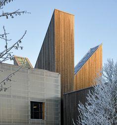 architecture norway | Bok & Blueshuset, Notodden