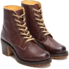 Worn 4x Frye Sabrina 6g In Walnut! Lightly worn. Original sole cushion taken out. Frye Shoes Lace Up Boots