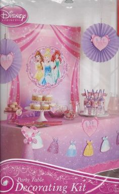 Amazon Disney Princess Party Decorating Kit Toys Games