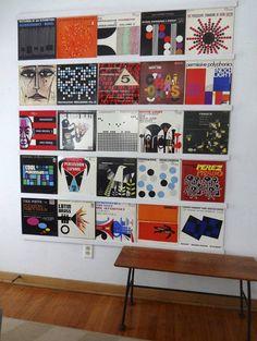 gallery wall art framed record