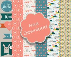 Free Printable Autumn Papers & Tags