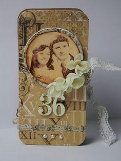 Anniversary present by Reka Anniversary Present, Creativity, Presents, Scrapbooking, Board, Crafts, Inspiration, Gifts, Biblical Inspiration