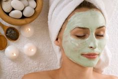 Easy to make face masks natural and simple face masks, homemade face masks,homemade facial masks - make natural face mask face mask recipe Spa Facial, Facial Masks, Mini Facial, Homemade Facial Mask, Homemade Facials, Homemade Masks, Best Face Mask, Diy Face Mask, Diy Spa Tag