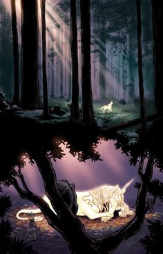 The Last Unicorn comic #1, by Peter S. Beagle, art by Renae de Liz and Ray Dillon (2010)