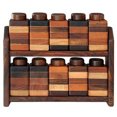Set of containers by Don Shoemaker | From a unique collection of antique and modern more dining and entertaining at http://www.1stdibs.com/furniture/dining-entertaining/more-dining-entertaining/