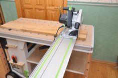 Мобильный верстак MFTC Festool Kapex, Workbench Designs, Woodworking Shop, Tool Box, Workbenches, How To Plan, Cabinet, Wood Working, Storage