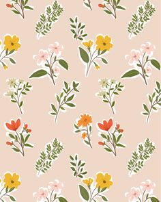 Flowers background wallpapers surface design ideas for 2019 Textures Patterns, Fabric Patterns, Flower Patterns, Print Patterns, Flower Pattern Design, Flower Background Wallpaper, Flower Backgrounds, Motif Floral, Floral Prints