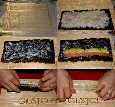 Sushi Co, My Favorite Food, Favorite Recipes, Salmon Sashimi, Diy Food, Japanese Food, Deli, Vegan, Finger Foods