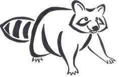 Raccoon Tattoo by ams017.deviantart.com on @deviantART