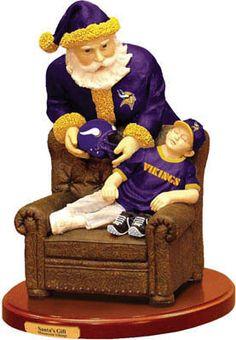 Vikings Football, Saints Football, Best Football Team, Minnesota Vikings, Cowboy Christmas, Christmas Love, Christmas Decor, New Orleans Christmas, Saints Gear