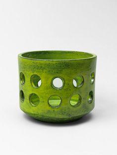 Mado Jolain; Glazed Ceramic Vessel, 1960.